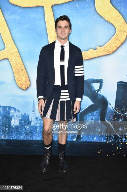 """Antoni Porowski attends the world premiere of """"Cats"""" at Alice Tully Hall, Lincoln Center on December 16, 2019 in New York City."""