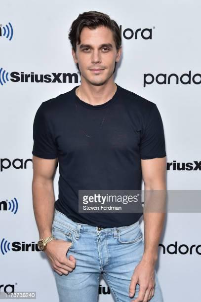 Antoni Porowski visits SiriusXM Studios on September 10, 2019 in New York City.