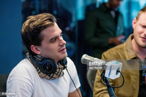 Antoni Porowski visits SiriusXM to talk about the 'Queer Eye for the Straight Guy' reboot at SiriusXM Studios on February 14 2018 in New York City