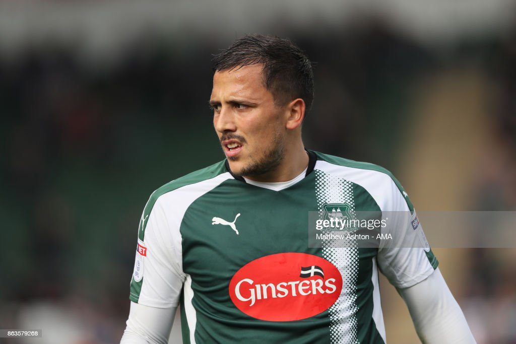 Plymouth Argyle v Shrewsbury Town - Sky Bet League One : News Photo