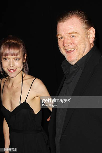 Antonia Campbell Hughes and Brendan Gleeson attend The Moet British Independent Film Awards 2011 at Old Billingsgate Market on December 4 2011 in...