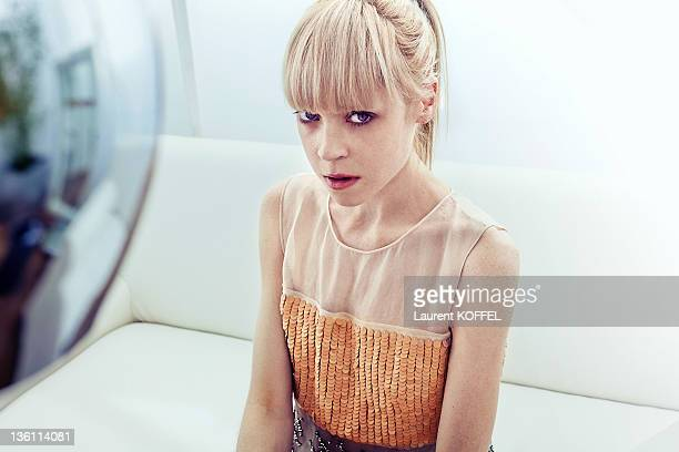 Antonia CampbellHughes Actress of the movie 'The Other Side of Sleep' on May 13 2011 in Cannes France