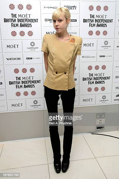 Antonia CampbellHughes attends as the nominations for the British Independent Film Awards are announced at St Martin's Lane Hotel on November 11 2013...