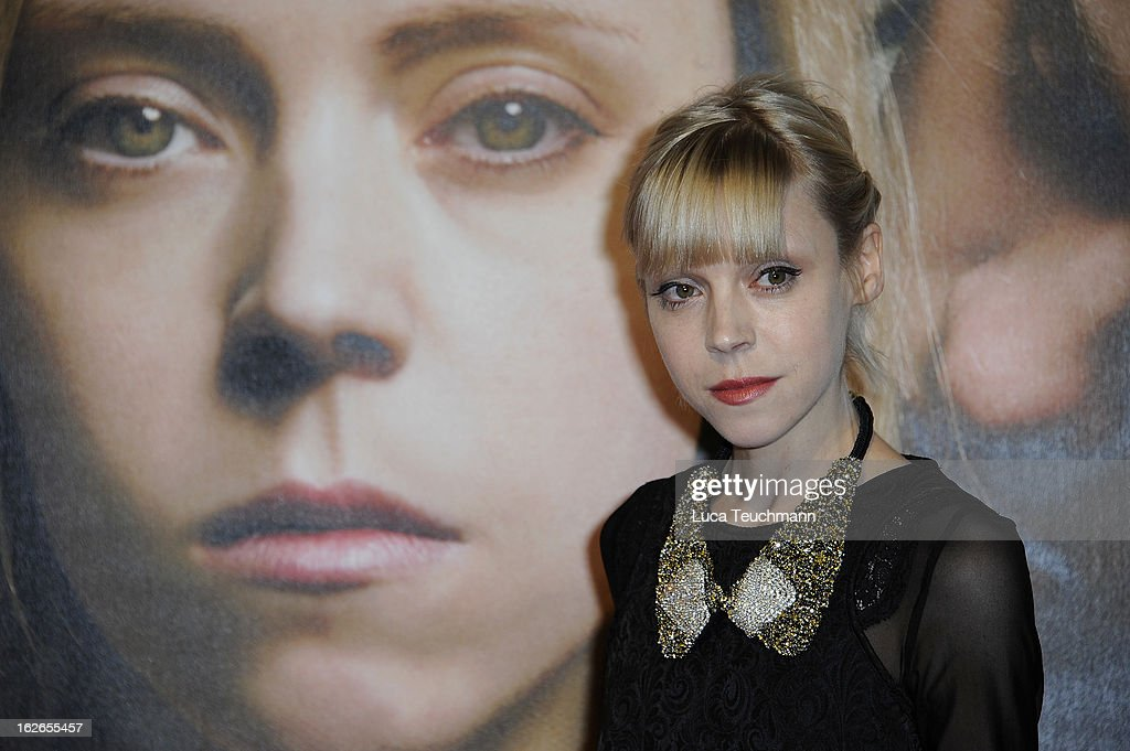 Antonia Campbell-Hughes attends the '3096 Tage' World Premiere at Cineplexx Wienerberg on February 25, 2013 in Vienna, Austria.