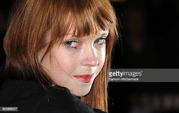 Antonia CampbellHughes attends the Gala screening of 'An Education' during The Times BFI London Film Festival at Vue West End on October 20 2009 in...