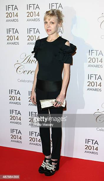 Antonia CampbellHughes attends the Irish Film And Television Awards on April 5 2014 in Dublin Ireland