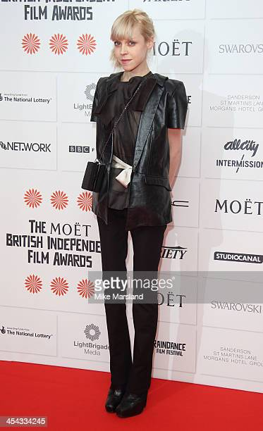 Antonia CampbellHughes attends the Moet British Independent Film Awards at Old Billingsgate Market on December 8 2013 in London England