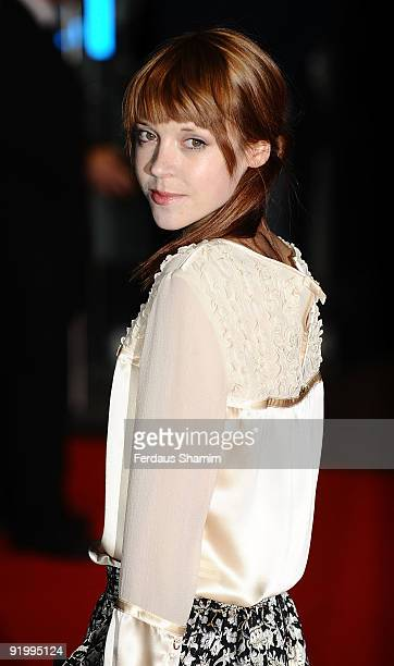 Antonia CampbellHughes attends the screening of 'Bright Star' during The Times BFI London Film Festival at Odeon Leicester Square on October 19 2009...