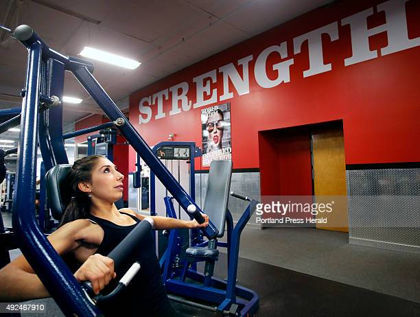 Antonia Caruso a Scarborough High School junior has used weight training to heal her body after suffering from anorexia Antonia works out at World's...