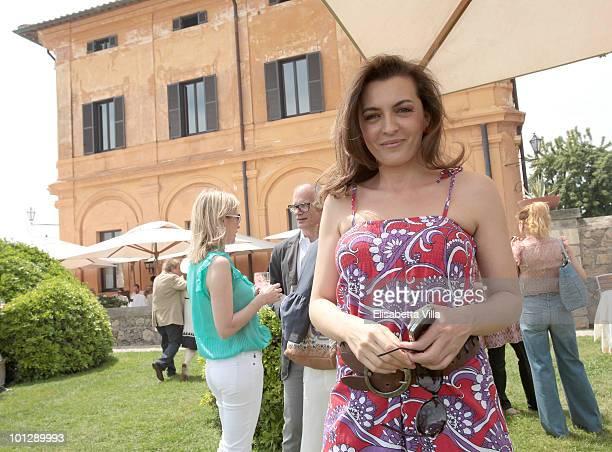"""Antonia De Mita attends the Picnic Swing at """"La Posta Vecchia"""" on May 30, 2010 in Ladispoli, Italy."""