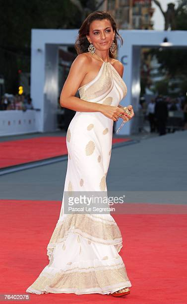Antonia De Mita attends the Se, Jie premiere during Day 2 of the 64th Annual Venice Film Festival on August 30, 2007 in Venice, Italy.