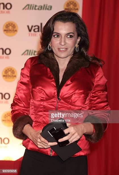 "Antonia De Mita attends ""Valentino: The Last Emperor"" premiere at Embassy Cinema on November 16, 2009 in Rome, Italy."