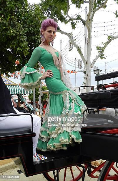 Antonia Dell'Atte attends 2015 April's Fair on April 25, 2015 in Seville, Spain.