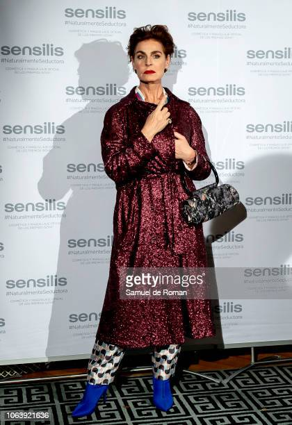 Antonia DellAtte attends during Sensilis Photocall in Madrid on November 20, 2018 in Madrid, Spain.