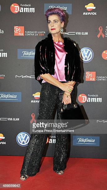Antonia Dell'Atte attends 'Fifth Gala Against HIV 2014' on November 24, 2014 in Barcelona, Spain.