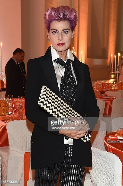 Antonia Dell'Atte attends Gala Telethon during the 9th Rome Film Festival at Auditorium Parco Della Musica on October 23 2014 in Rome Italy