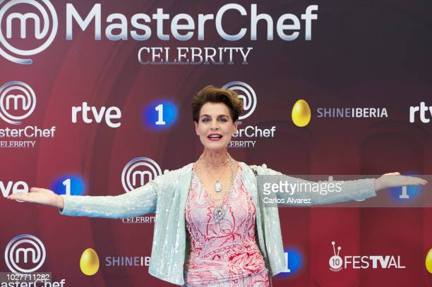 Antonia DellÕAtte attends 'Master Chef Celebrity' photocall at Palacio de Congresos Europa during the FesTVal 2018 on September 6 2018 in...
