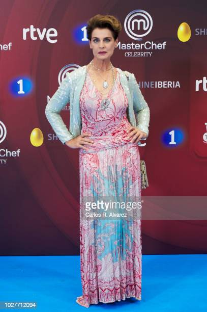 Antonia DellÕAtte attends 'Master Chef Celebrity' photocall at Palacio de Congresos Europa during the FesTVal 2018 on September 6, 2018 in...
