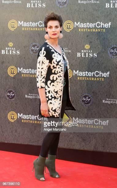 Antonia Dell'Atte attends 'Masterchef' Restaurant Opening on June 4 2018 in Madrid Spain