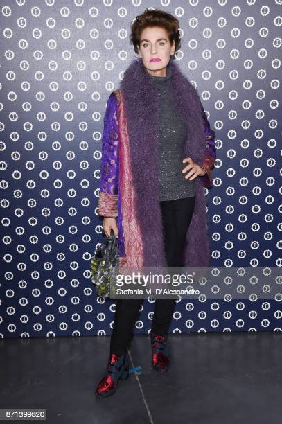 Antonia Dell'Atte attends Opening Garage Italia Milano on November 7 2017 in Milan Italy