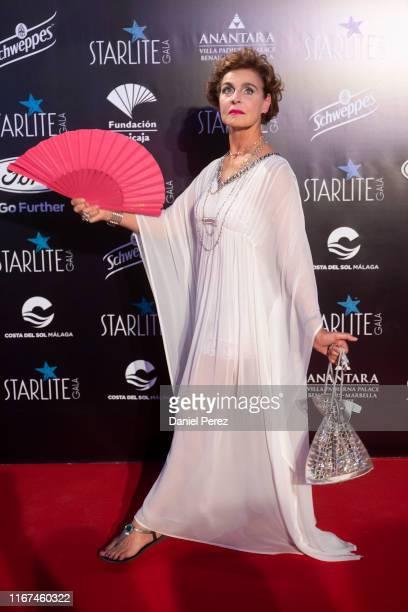 Antonia Dell'Atte attends Starlite Gala on August 11, 2019 in Marbella, Spain.