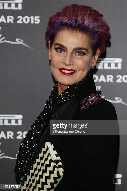 Antonia Dell'Atte attends the 2015 Pirelli Calendar Red Carpet on November 18 2014 in Milan Italy
