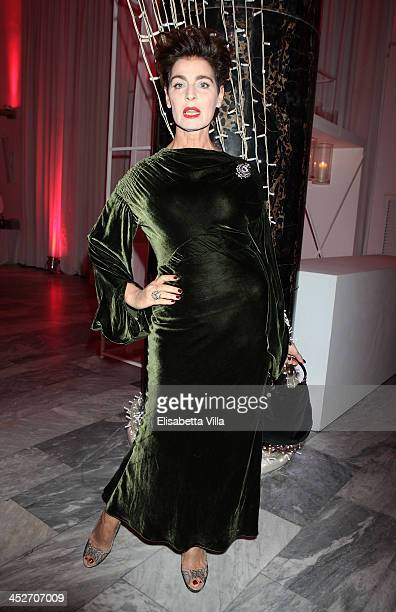 Antonia Dell'Atte attends The Children For Peace Benefit Gala Ceremony at Spazio Novecento on November 30 2013 in Rome Italy