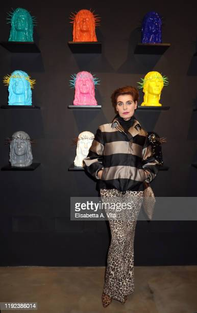 Antonia Dell'Atte attends the Howtan Re Preview Party at Howtan Space on December 06 2019 in Rome Italy