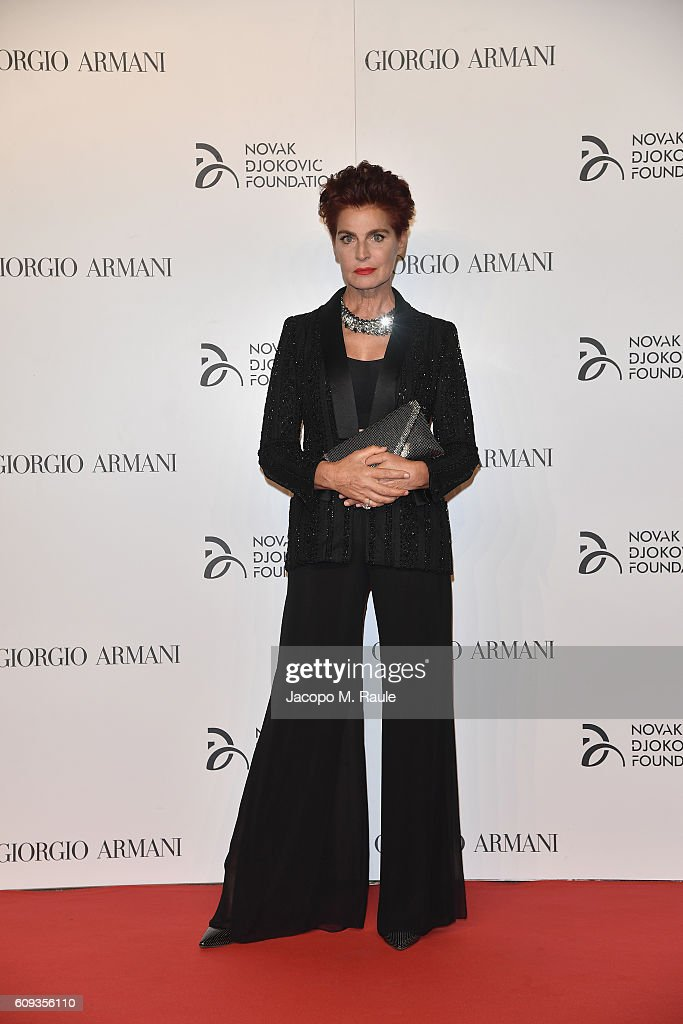 Tennis Meets Fashion At The Milano Gala Dinner Benefitting The Novak Djokovic Foundation Presented By Giorgio Armani