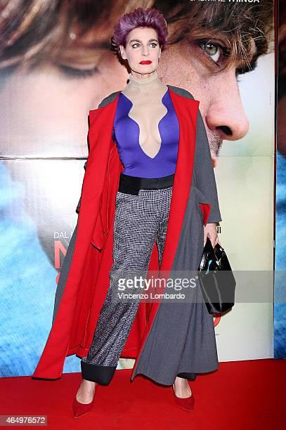 Antonia Dell'Atte attends the 'Nessuno Si Salva Da Solo' Screening in Milan on March 2, 2015 in Milan, Italy.