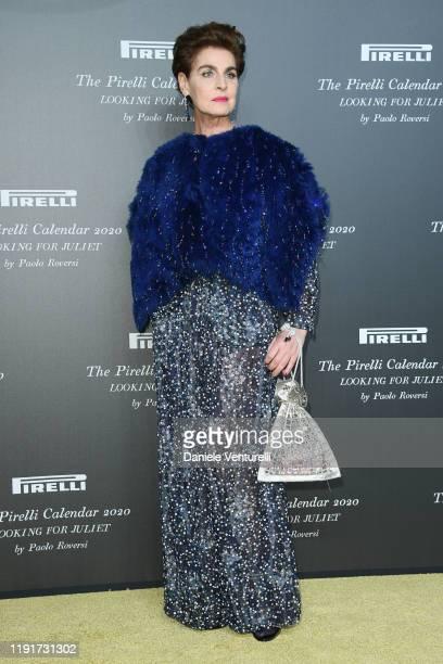 "Antonia Dell'Atte attends the presentation of the Pirelli 2020 Calendar ""Looking For Juliet"" at Teatro Filarmonico on December 03, 2019 in Verona,..."