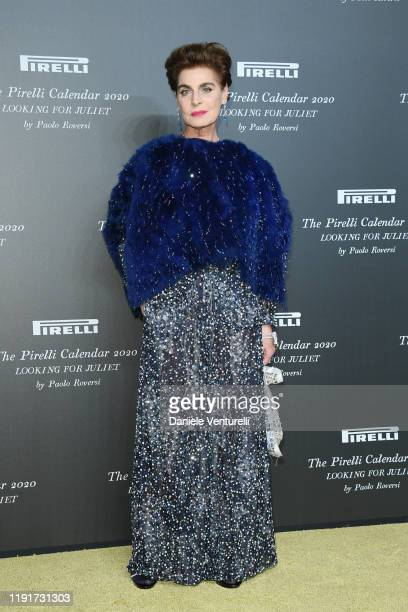 Antonia Dell'Atte attends the presentation of the Pirelli 2020 Calendar Looking For Juliet at Teatro Filarmonico on December 03 2019 in Verona Italy