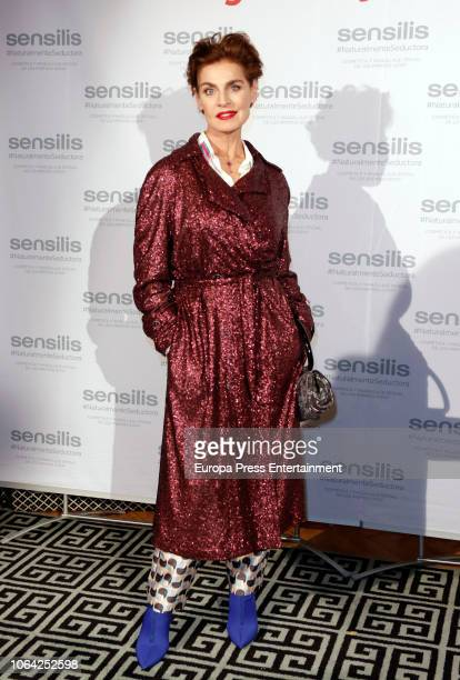 Antonia Dell'Atte attends the 'Sensilis' photocall on November 20 2018 in Madrid Spain