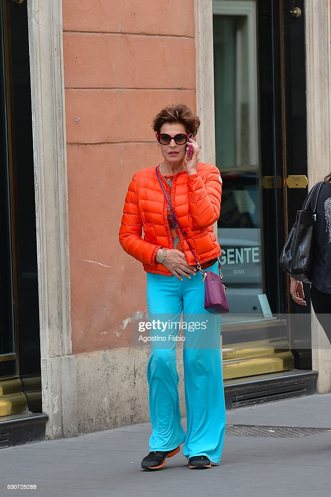 Celebrity Sightings Antonia Dell'Atte In Rome - May 11, 2016 : News Photo