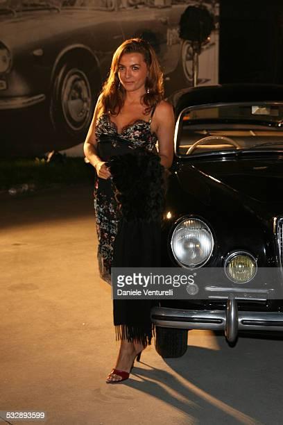 Antonia DeMita during The 63rd International Venice Film Festival - Celebrating 100 Years of Lancia in Venice Lido, Italy.