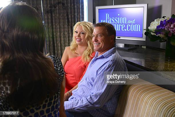 Antonia Dorian and Bill Sheaffer attend 'Passion And Pleasure' series taping starring Tracey Jewel and worldrenowned relationship and sex experts at...