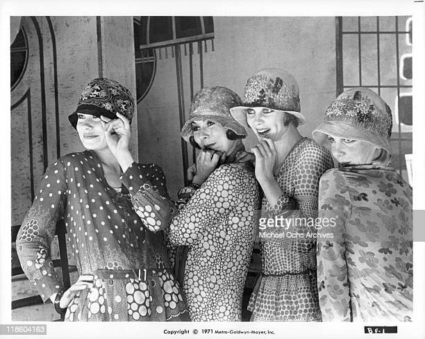 Antonia Ellis Caryl Little Sally Bryant and Georgina Hale insist that they're perfect ladies in a scene from the film 'The Boy Friend' 1971