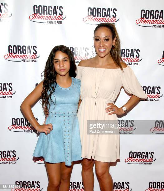 Antonia Gorga and Melissa Gorga attend the Gorga's Homemade Pasta Pizza Grand Opening on May 18 2017 in East Hanover New Jersey