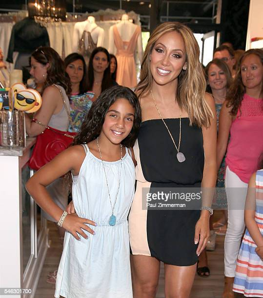 Antonia Gorga and Melissa Gorga attend the Melissa Gorga's 'Real Housewives Of New Jersey' Season 7 Premiere Shopping Event at envy by Melissa Gorga...