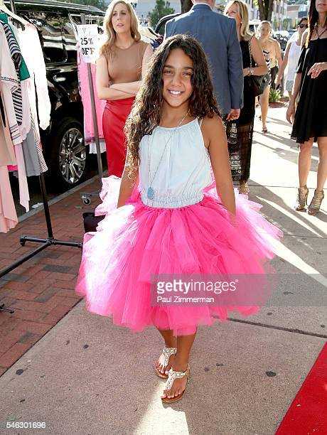 Antonia Gorga attends the Melissa Gorga's 'Real Housewives Of New Jersey' Season 7 Premiere Shopping Event at envy by Melissa Gorga Boutique on July...