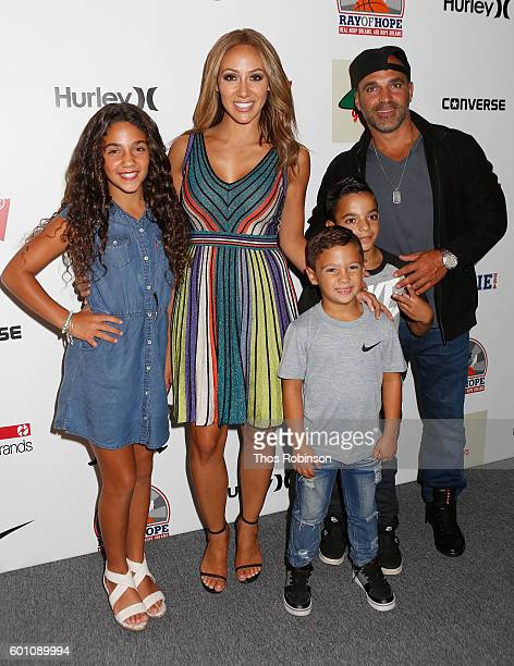 Antonia Gorga Melissa Gorga and family attend Levi's Kids Rock Runway Show at The Dock Skylight at Moynihan Station on September 8 2016 in New York...