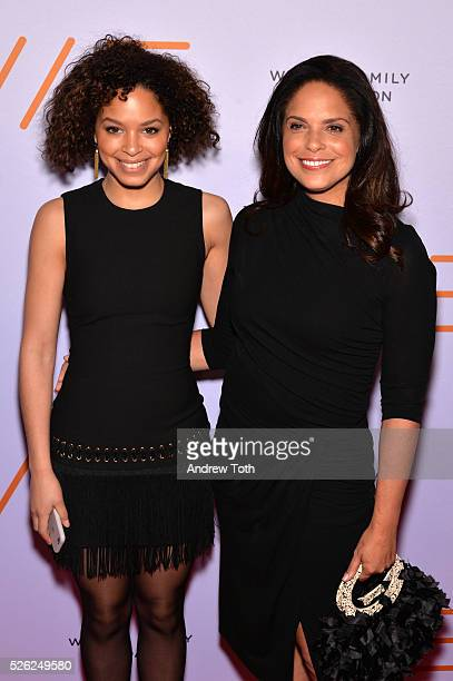 Antonia Hylton and journalist Soledad O'Brien attend the We Are Family Foundation 2016 Celebration Gala on April 29 2016 in New York New York