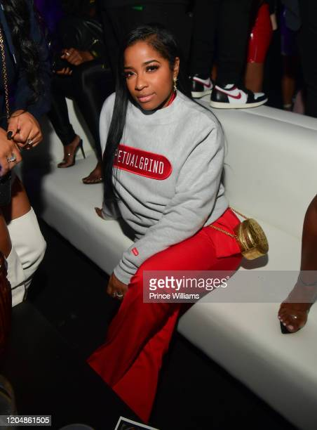 Antonia Johnson attends The Big Game Weekend at The Dome Miami on February 1, 2020 in Miami, Florida.