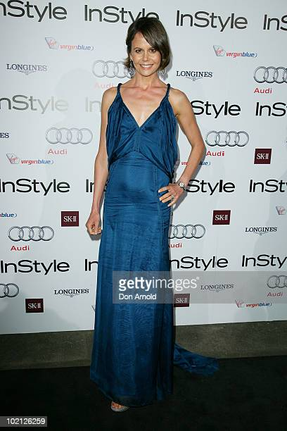Antonia Kidman poses on the red carpet at the InStyle And Audi Women of Style Awards at Australian Technology Park on May 11 2010 in Sydney Australia