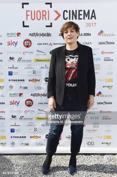 Antonia Klugmann attends FuoriCinema on September 16 2017 in Milan Italy