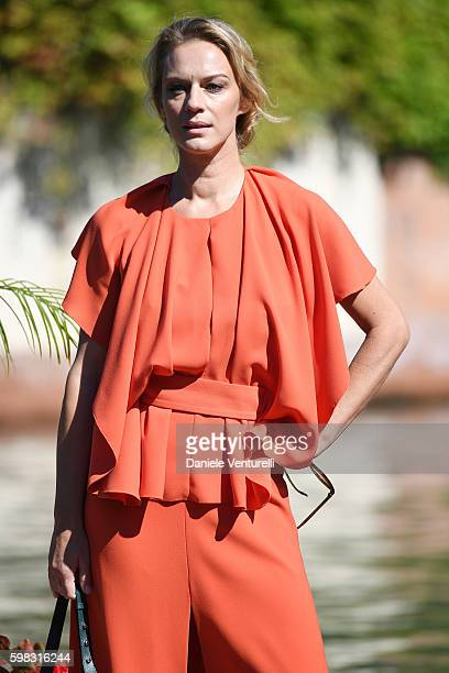 Antonia Liskova arrives at Lido during the 73rd Venice Film Festival on September 1 2016 in Venice Italy