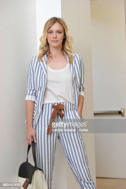Antonia Liskova attends a photocall for 'Solo Per Amore Destini Incrociati' on May 8 2017 in Rome Italy