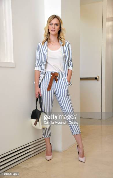 Antonia Liskova attends a photocall for 'Solo Per Amore Destini Incrociati' on May 8 2017 in Rome Italy