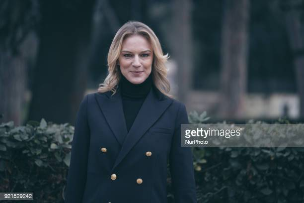 Antonia Liskova attends photocall of the movie 'Sconnessi' at the Casa del Cinema in Rome Italy on 19th February 2018