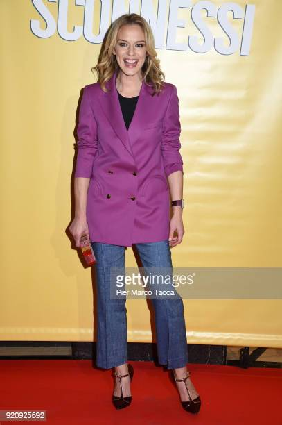 Antonia Liskova attends 'Sconnessi' premiere on February 19 2018 in Milan Italy